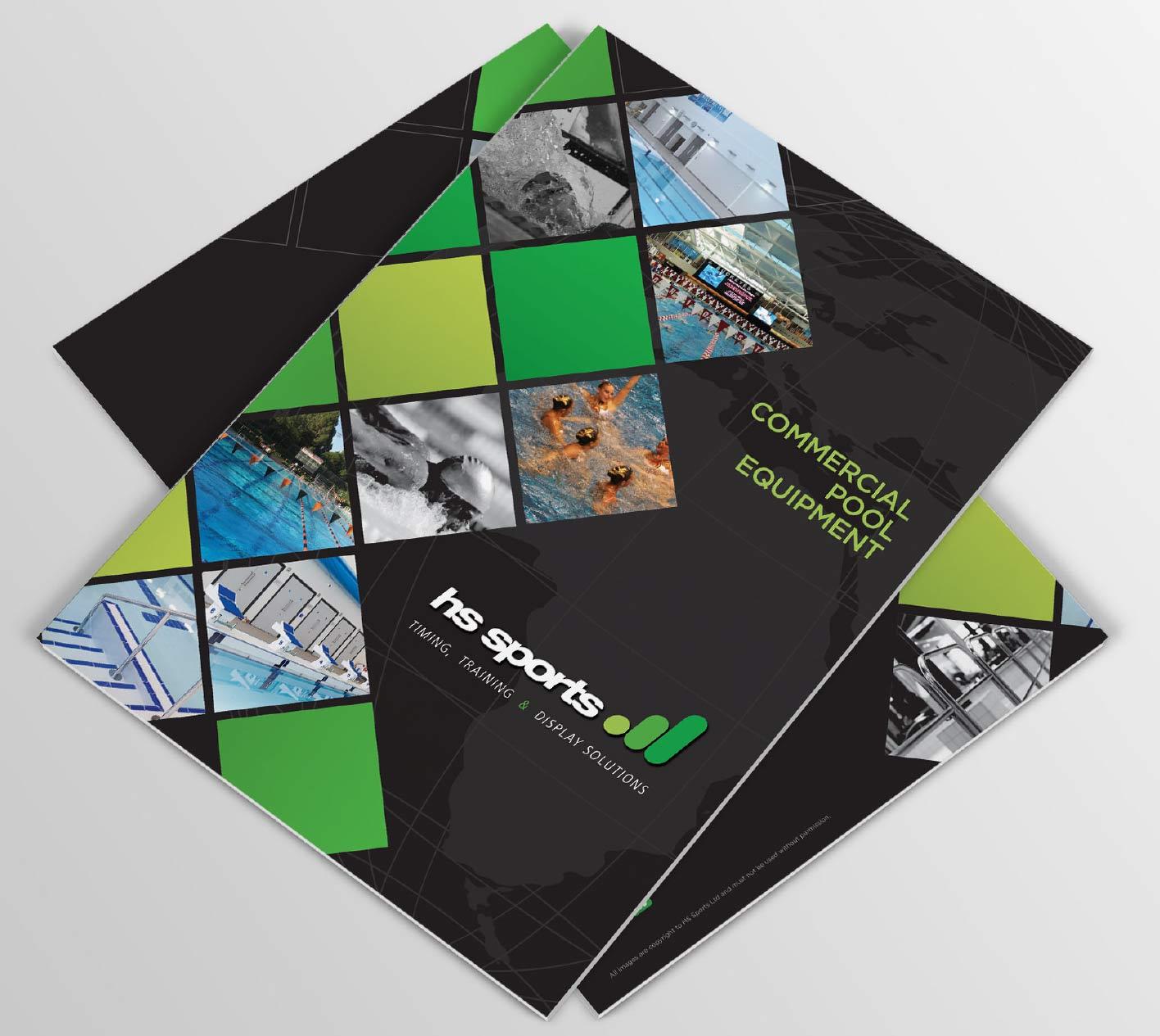 Brochure design & print for HS Sports, Congleton, Cheshire