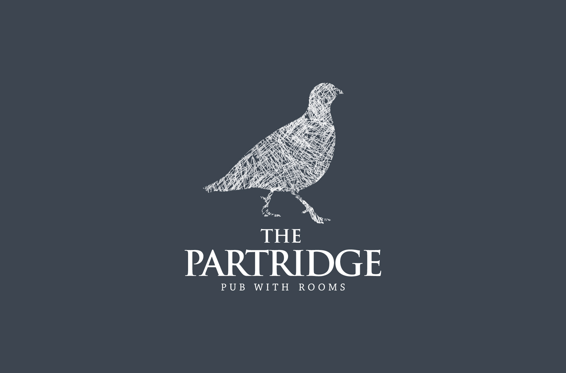 Logo design for The Partridge, Cheshire