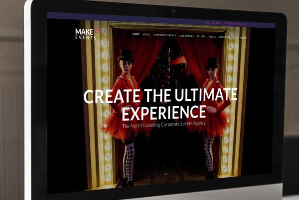 Website design for Make Events